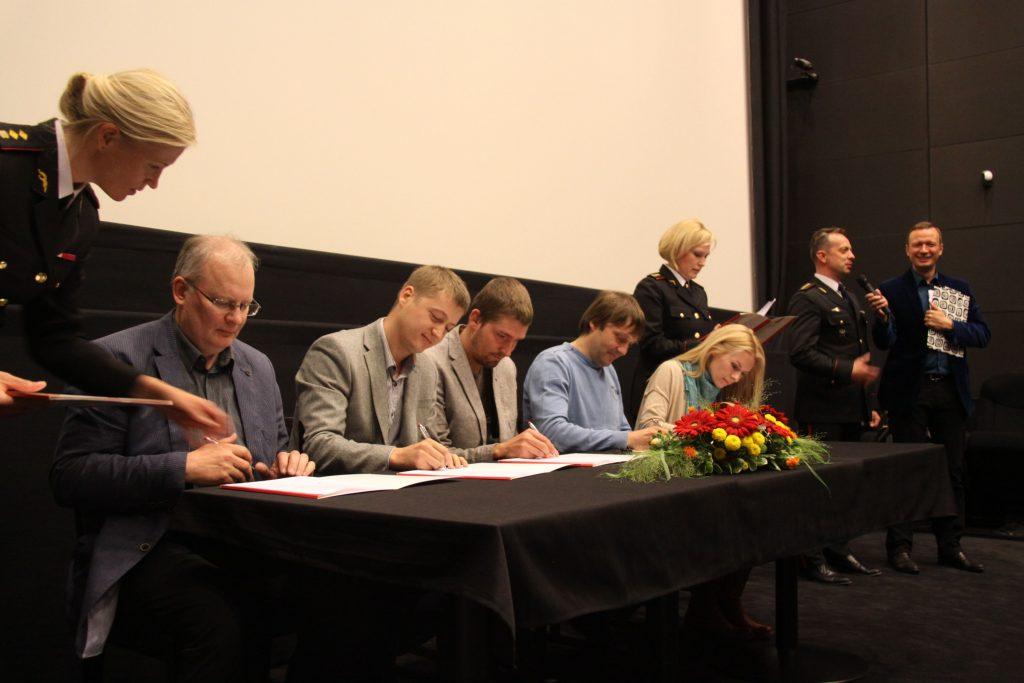 Päästeameti ja Eesti suurürituste hea tahte leppe allkirjastamine